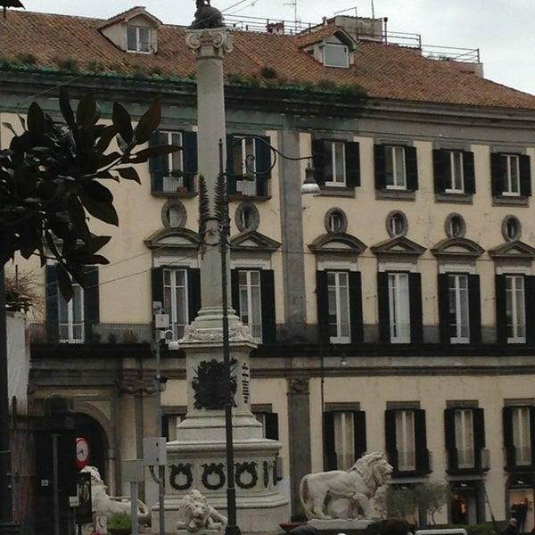 Photo taken at Piazza dei Martiri by Francesco on 1/26/2013