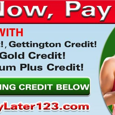 you buy now pay later no credit check displays