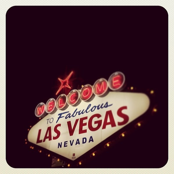 Photo taken at Welcome To Fabulous Las Vegas Sign by Samuel M. on 2/28/2014