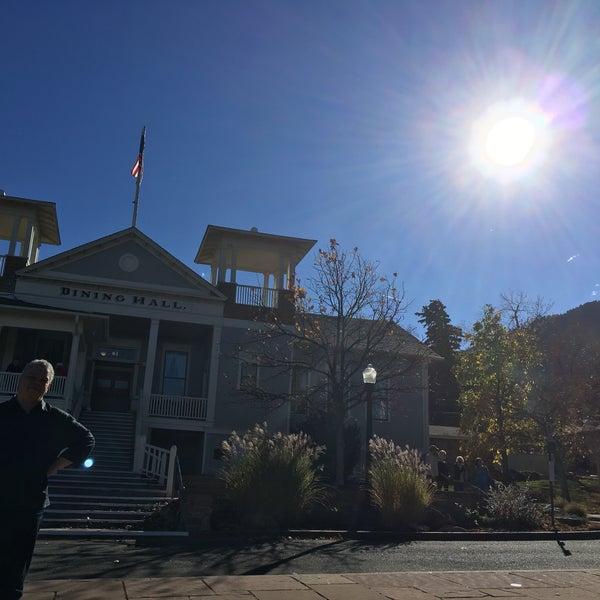 Photo taken at Colorado Chautauqua National Historic Landmark by zanetta on 10/29/2016