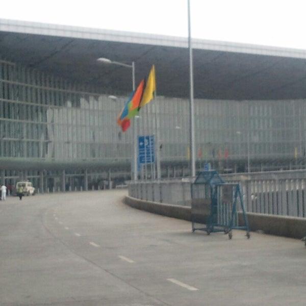 Photo taken at Netaji Subhash Chandra Bose International Airport (CCU) by Vipin S. on 6/21/2013