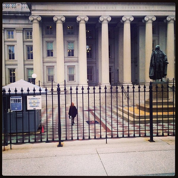 Photo taken at US Department of the Treasury by Cody M. on 3/27/2013