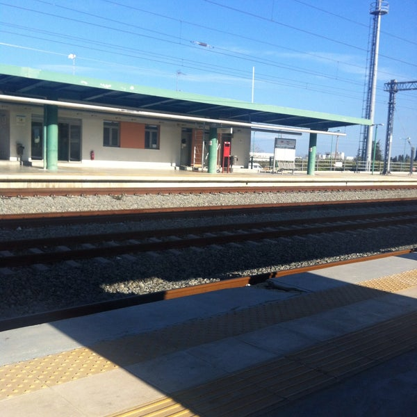 Photo taken at Σταθμός Προαστιακού Κιάτο (Kiato Suburban Rail Station) by Daniela L. on 3/2/2015