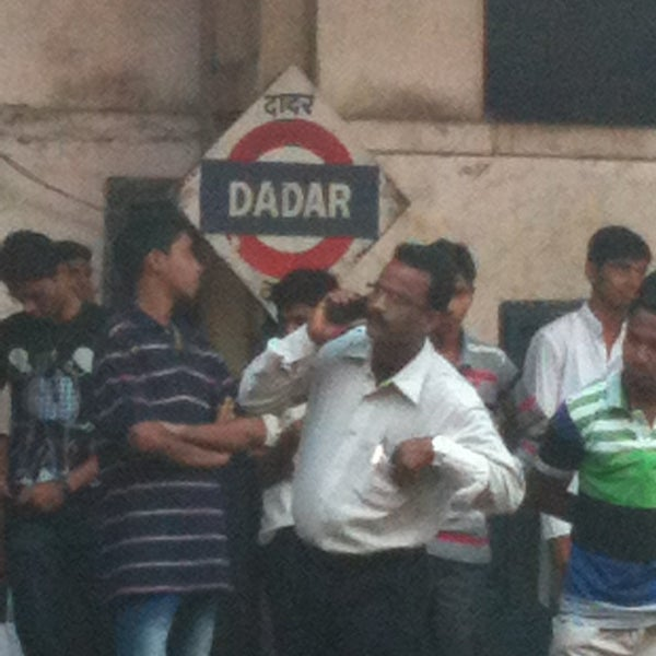 Photo taken at Dadar Railway Station by Siddhant K. on 12/30/2012