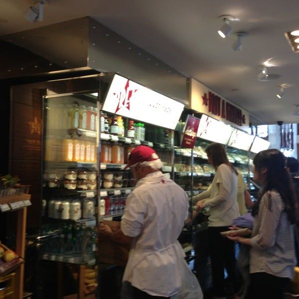 Photo taken at Pret A Manger by Craig D. on 4/8/2013