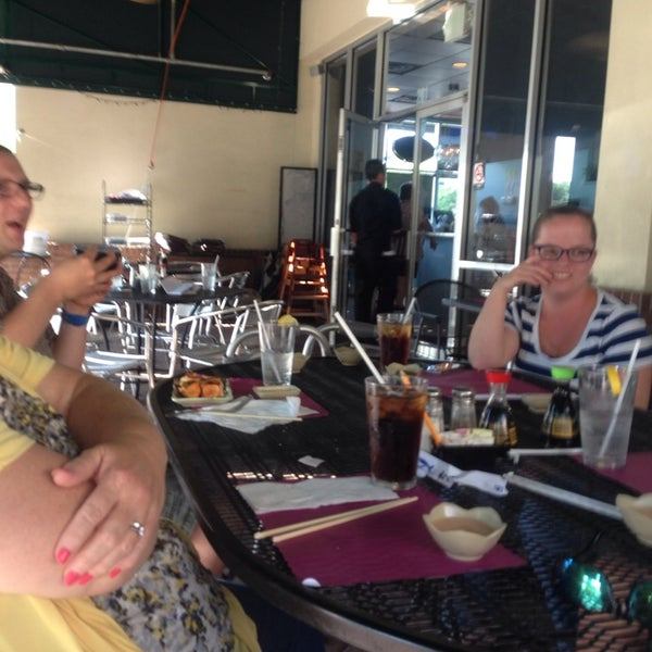 Photo taken at Sushi Cafe by Jeffery S. on 5/6/2014
