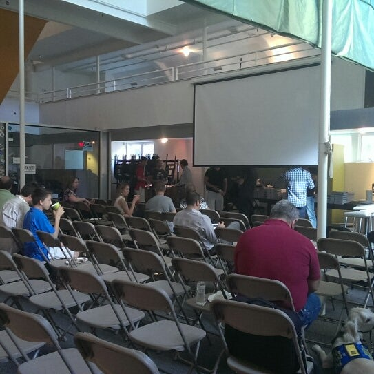 Photo taken at Tech Wildcatters (The Tech Church) by Kyle T. on 5/31/2013
