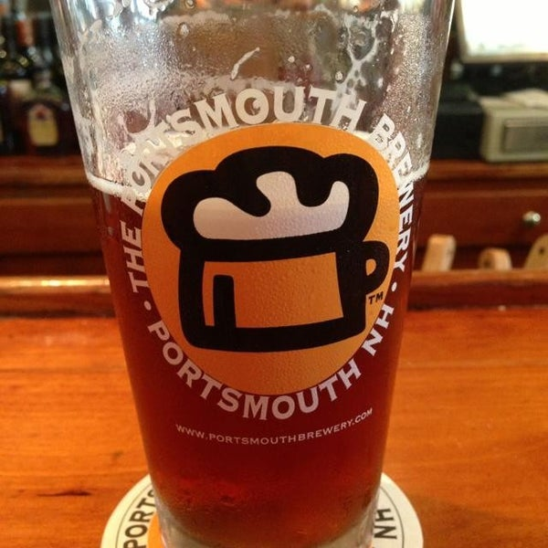 Photo taken at Portsmouth Brewery by Paul D. on 7/11/2013