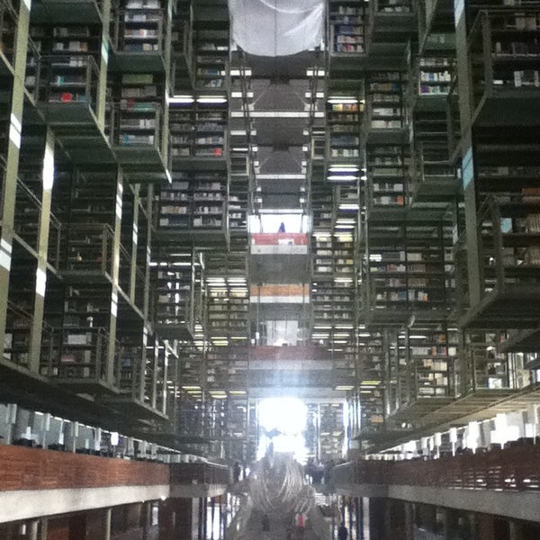 Photo taken at Biblioteca Vasconcelos by Eli R. on 2/26/2013