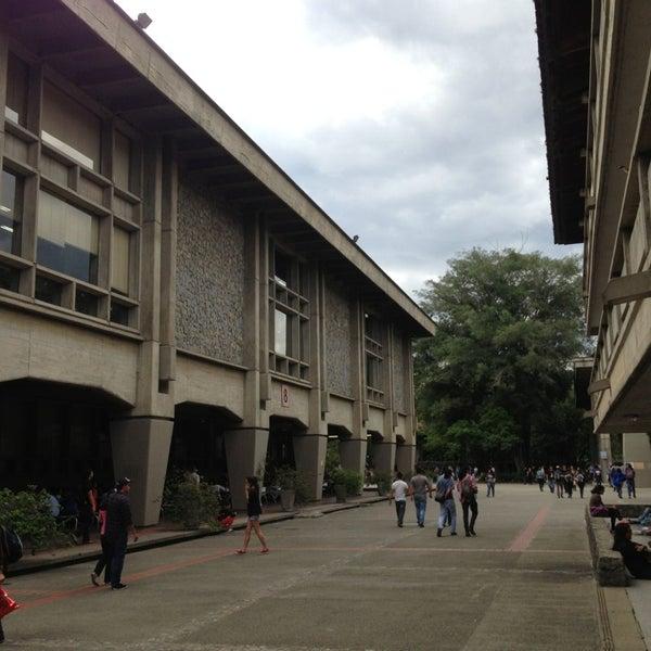 Photo taken at Universidad de Antioquia by Sebastian Q. on 5/28/2013
