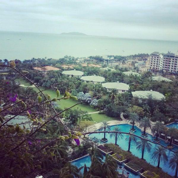 Photo taken at HowardJohnson Resort Sanya Bay by Анна С. on 2/13/2014