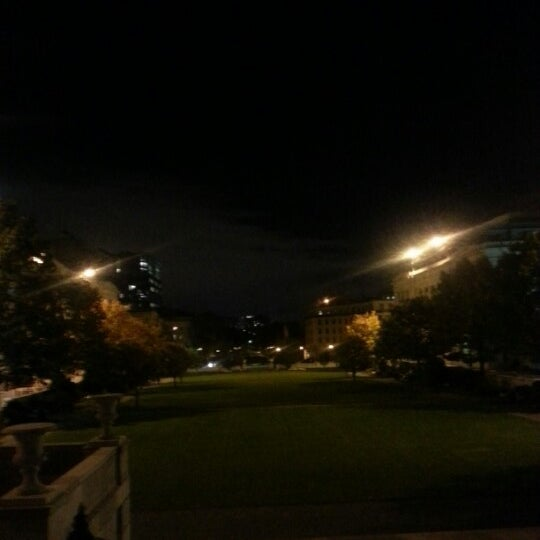 Photo taken at Harvard Medical School Quadrangle by John O. on 10/19/2012