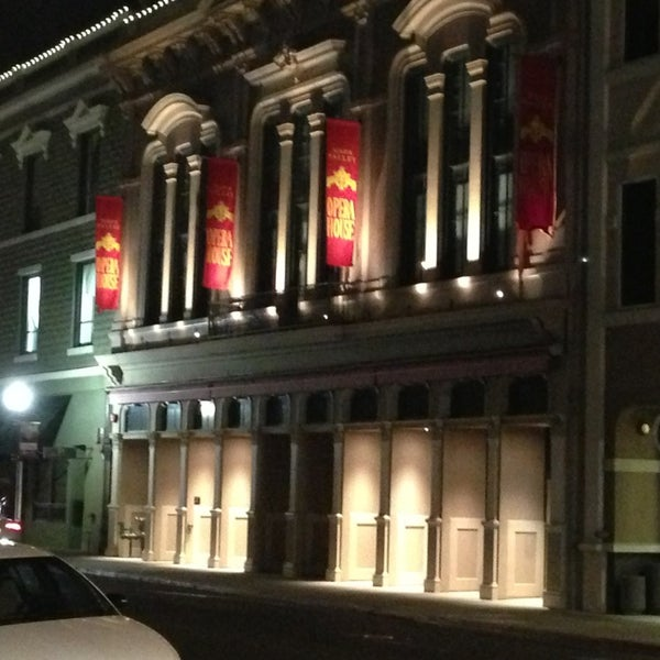 Photo taken at Napa Valley Opera House by Emerson C. on 1/18/2013