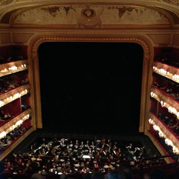 Photo taken at Royal Opera House by Nicolas T. on 3/16/2013