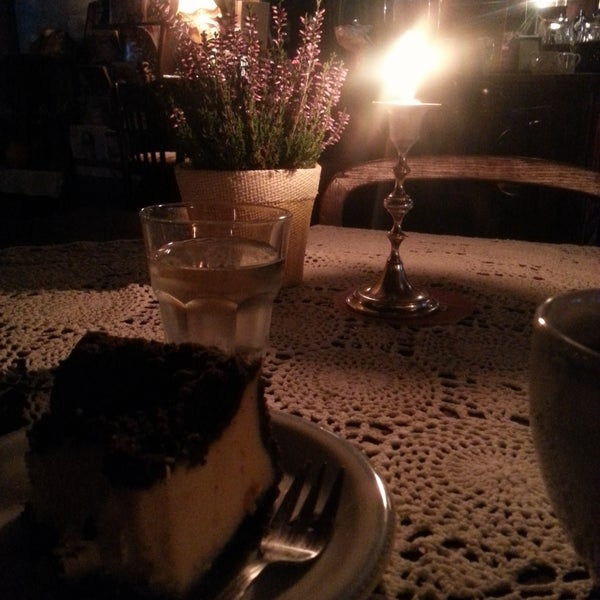 So dark, but so cosy and warm. Perfect place for tea and cake in a cold winter afternoon.