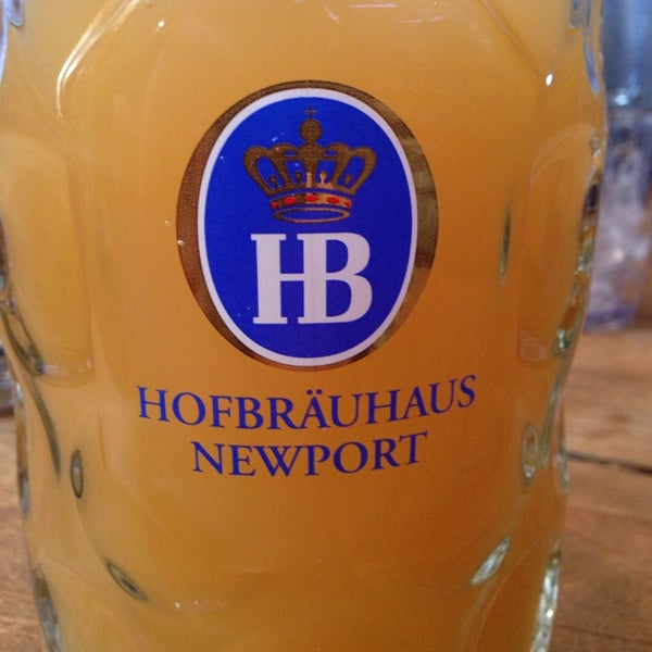 Photo taken at Hofbräuhaus Newport by Carl M. on 2/28/2014