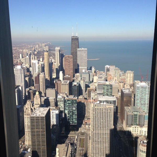 Photo taken at Aon Center by Mayte M. on 11/21/2014