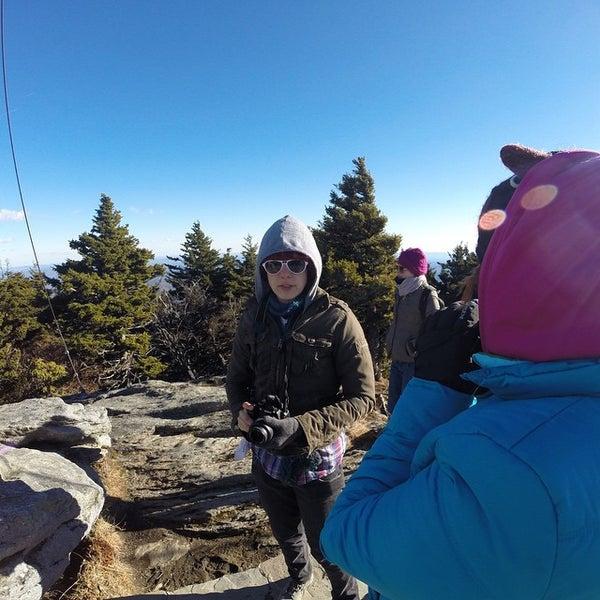 Photo taken at Grandfather Mountain by Ryan M. on 1/21/2015