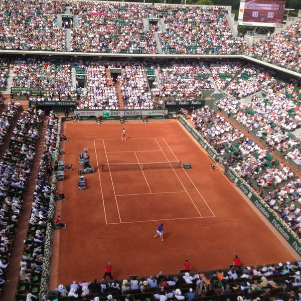 Photo taken at Stade Roland Garros by Mr.Blum on 6/5/2013