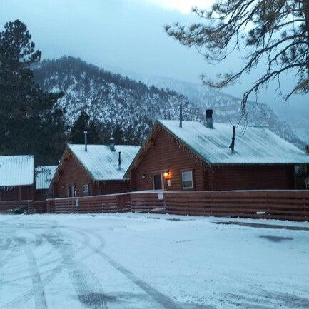 Photo taken at Mt Charleston Lodge by Ben Y. on 2/9/2013