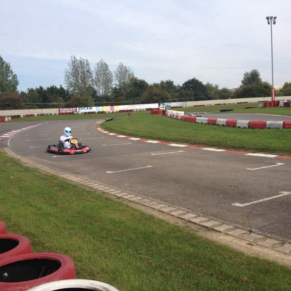 Photo taken at Daytona Karting Circuit by Kat S. on 9/27/2013