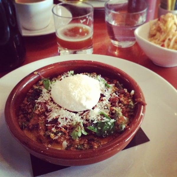 Photo taken at Lula Café by John M. on 3/15/2013
