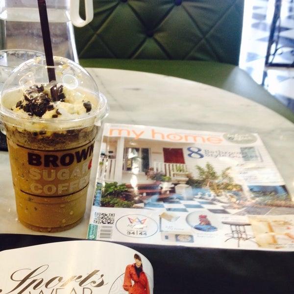 Photo taken at brown sugar cafe by saii s. on 11/28/2014
