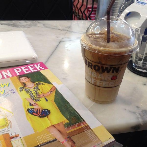 Photo taken at brown sugar cafe by saii s. on 7/8/2015