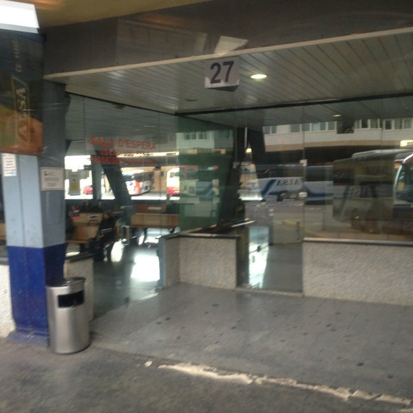 Photo taken at Estación de Autobuses de Valencia by Julia B. on 1/15/2013