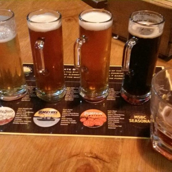 Photo taken at Mountain State Brewing Co. by Rich N. on 10/24/2015