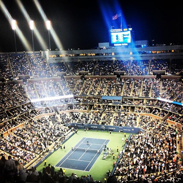 Photo taken at US Open Tennis Championships by Emily T. on 9/5/2013