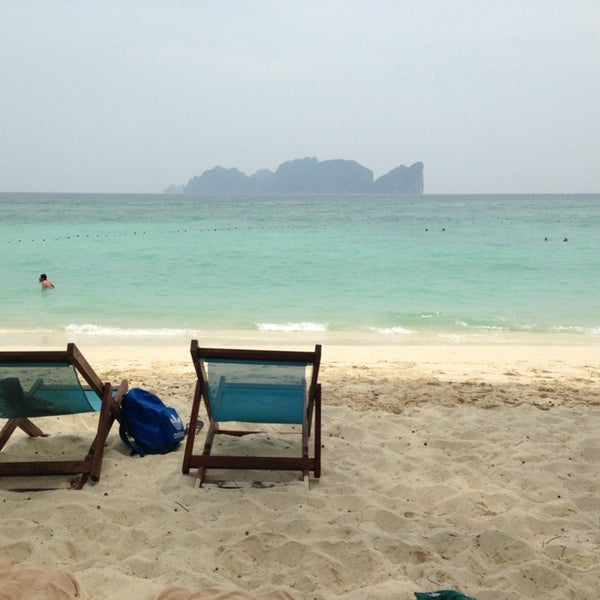 Photo taken at Phi Phi Island by Victoria D. on 4/10/2013