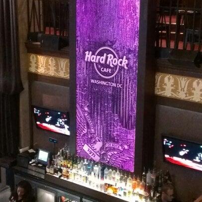 Photo taken at Hard Rock Cafe Washington DC by Kamilah on 1/21/2013