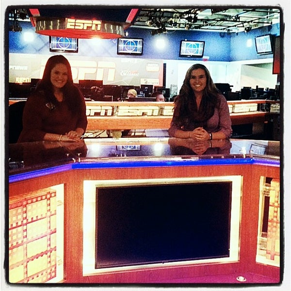 Photo taken at ESPN by Megan H. on 1/26/2014