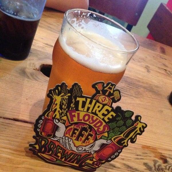 Photo taken at Three Floyds Brewery & Pub by Matt K. on 6/25/2013