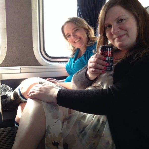 Photo taken at Denver Amtrak (DEN) by Monica I. on 5/3/2014