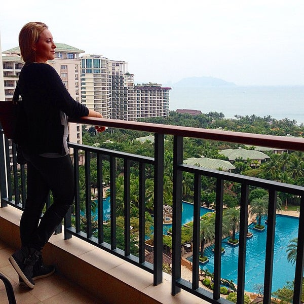 Photo taken at HowardJohnson Resort Sanya Bay by Mila C. on 12/15/2014
