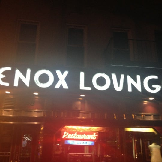 Photo taken at Lenox Lounge by Nevah A. on 12/11/2012