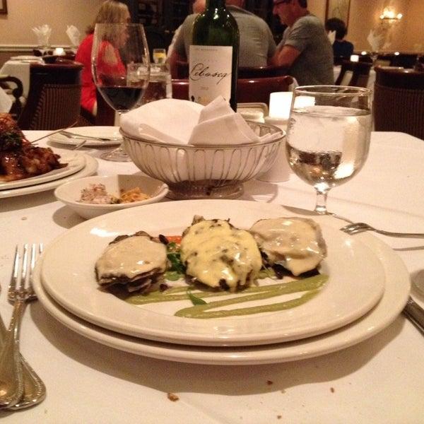 Photo taken at Broussard's Restaurant & Courtyard by David F. on 6/15/2014