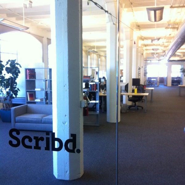 Photo taken at Scribd HQ by Gabri P. on 4/15/2013