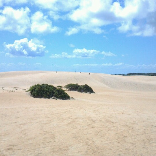 Photo taken at Jockey's Ridge State Park by Christine K. on 7/4/2013