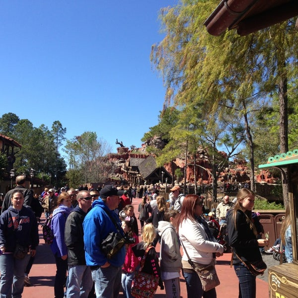 Photo taken at Frontierland by Andrew R. on 2/17/2013