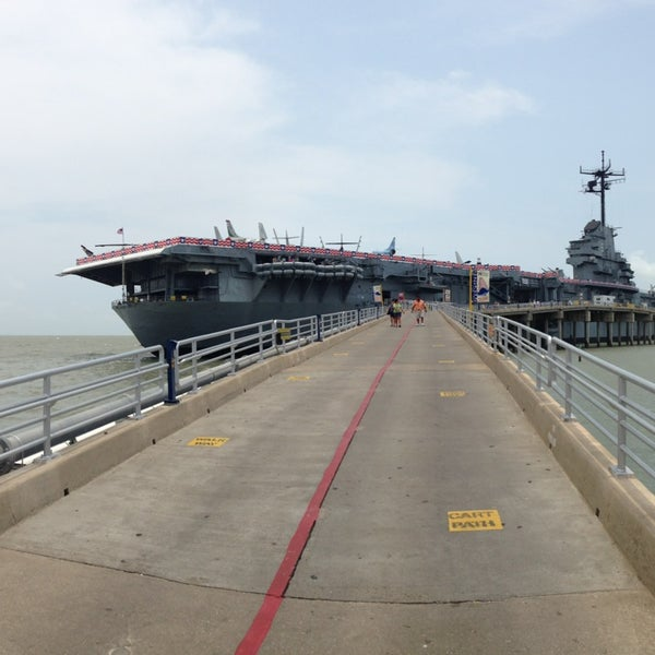 Photo taken at USS Lexington Museum On The Bay by Salem H. on 5/24/2013