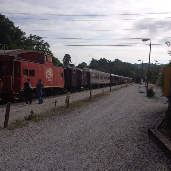 Photo taken at Great Smoky Mountain Railroad by marsh w. on 6/9/2014