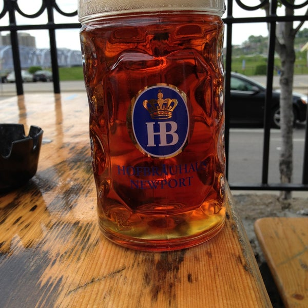 Photo taken at Hofbräuhaus Newport by Eric W. on 5/4/2013