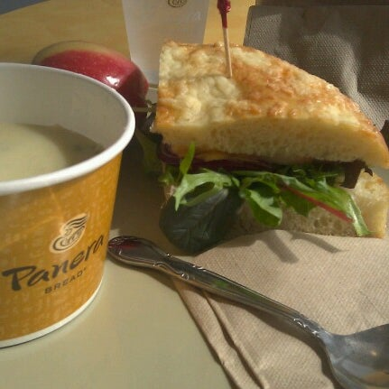 Photo taken at Panera Bread by Toya on 10/3/2012