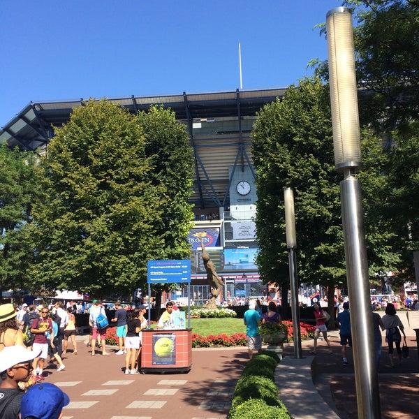 Photo taken at US Open Tennis Championships by Lori C. on 9/7/2015