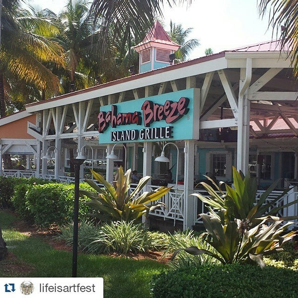 Photo taken at Bahama Breeze by James E. on 6/24/2015