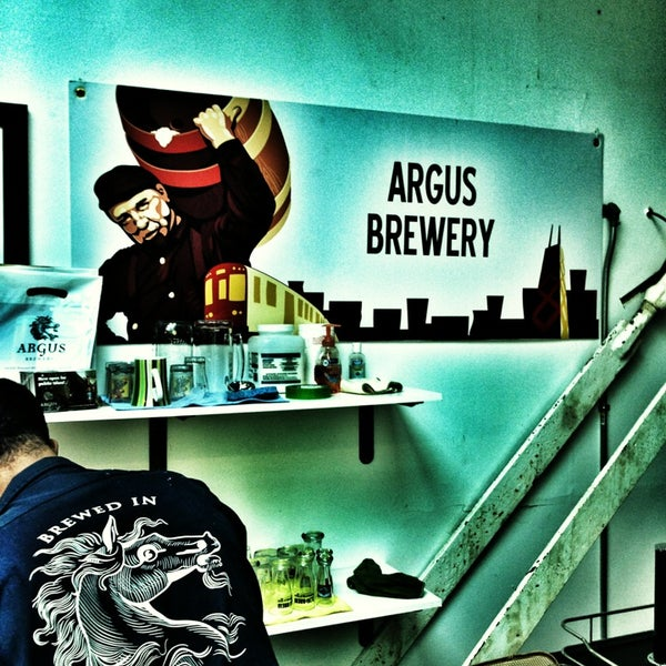 Photo taken at Argus Brewery by Jarrett P. on 3/25/2013