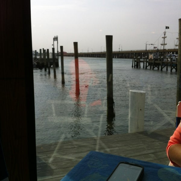 Photo taken at Marina Deck Resturant by Amanda B. on 5/28/2013